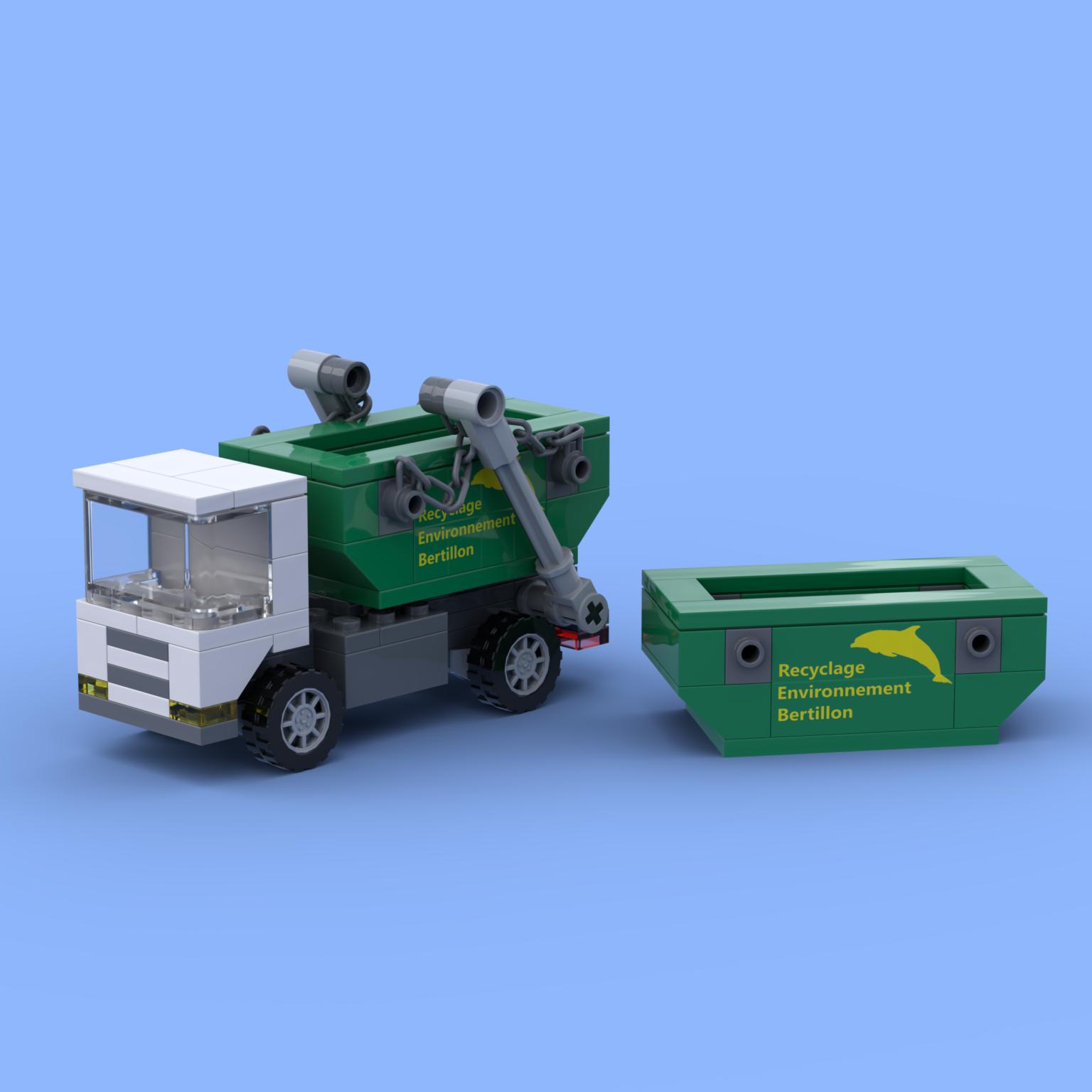 Le camion multi-bennes