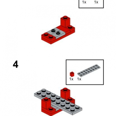 The fork lift truck building instructions